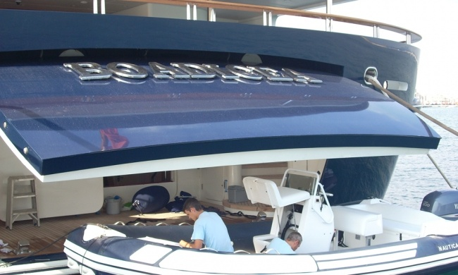 Portfolio MY Boadicea marine Upholstery Mallorca