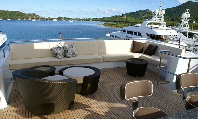 Portfolio MY Milk and Honey marine Upholstery Mallorca